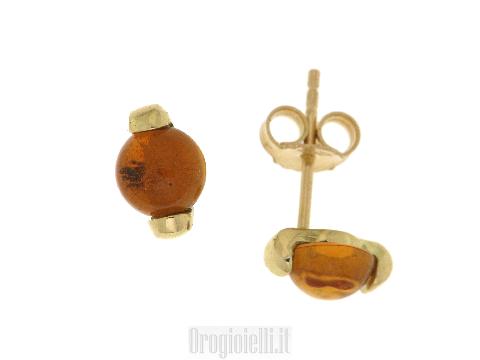 Gioielli Italiani - Splendidi orecchini oro pietre colorate